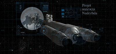 Cliquez sur l'image pour la voir en taille réelle  Nom : CYP Spaceship Nadezhda.jpg Affichages :50 Taille :517,8 Ko ID : 21270