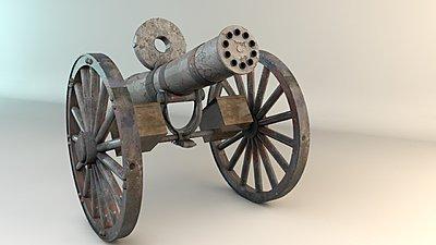 Cliquez sur l'image pour la voir en taille réelle  Nom : Electrically_Powered_Gatling_Gun_2.jpg Affichages :8 Taille :86,7 Ko ID : 17461