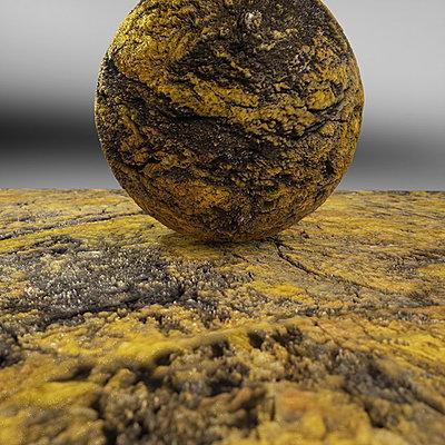Cliquez sur l'image pour la voir en taille réelle  Nom : Mineral Reign 25 - Carnotite.jpg Affichages :3 Taille :203,1 Ko ID : 21086