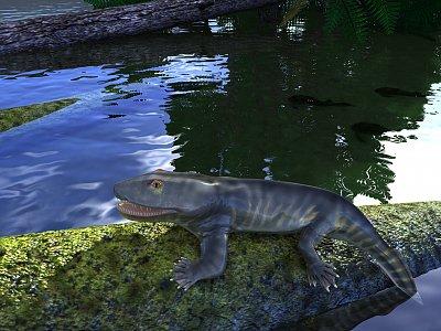 Cliquez sur l'image pour la voir en taille réelle  Nom : ichthyostega.jpg Affichages :12 Taille :444,3 Ko ID : 23256
